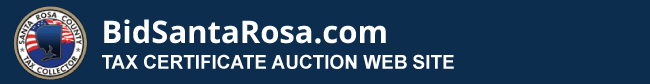 BidSantaRosa auction selection page